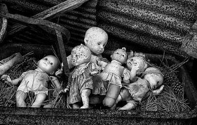 Reptiles - Abandoned Baby Dolls by Cindy Archbell