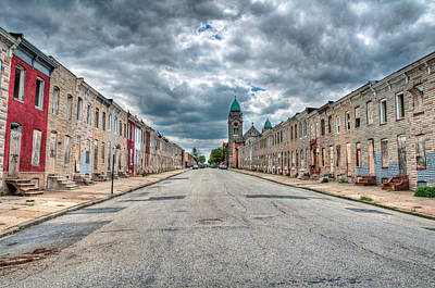 Photograph - Abandoned Baltimore by Chuck Robinson