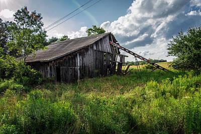 Moody Trees - Abandoned Barn by Anthony Thomas