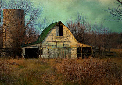 Photograph - Abandoned Barn by Deena Stoddard