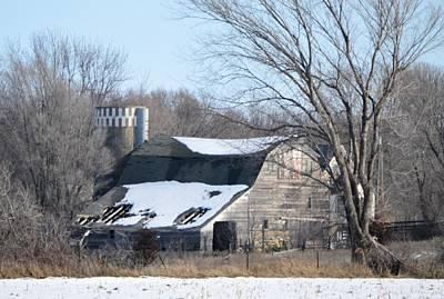 Photograph - Abandoned Barn by Bonfire Photography