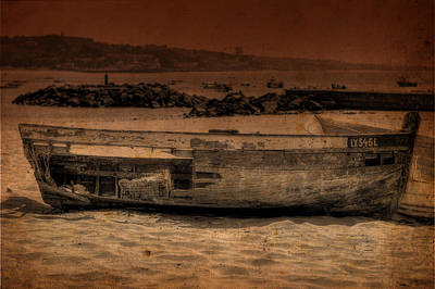 Photograph - Abandoned Boat II by Marco Oliveira