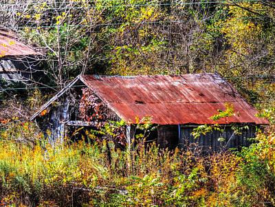 Thomas Kinkade - Abandoned Building 4 by Cathy Jourdan