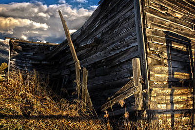 Photograph - Abandoned Building Fort Steele by Rob Tullis