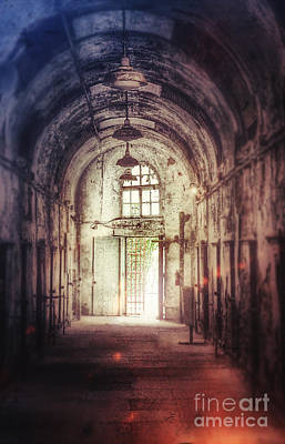Photograph - Abandoned Building Interior by Jill Battaglia