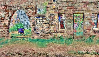 Abandoned Building Art Print by Kathleen Struckle