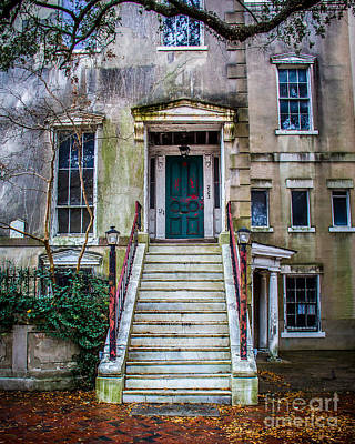Abandoned Building Art Print by Perry Webster
