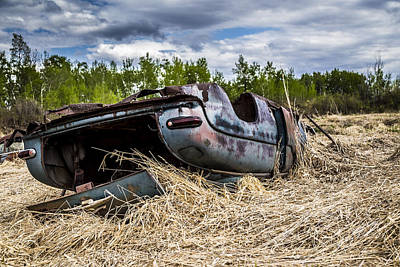 Photograph - Abandoned Car by Gerald Murray Photography