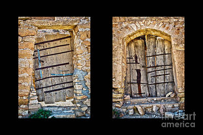 Abandoned House Wall Art - Photograph - Abandoned Diptych by Delphimages Photo Creations