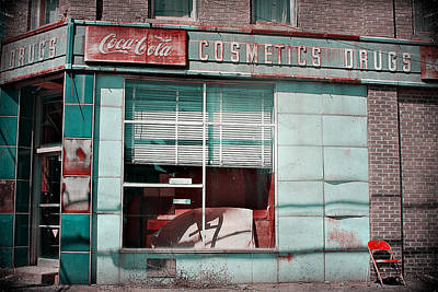 Abandoned Drug Store Art Print by DeeLusions Photography