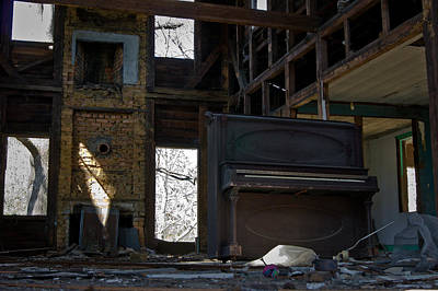 Photograph - Abandoned by E Karl Braun