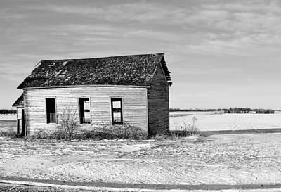 Photograph - Abandoned Education by Bonfire Photography