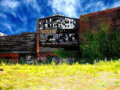 Abandoned Factory 1 Art Print