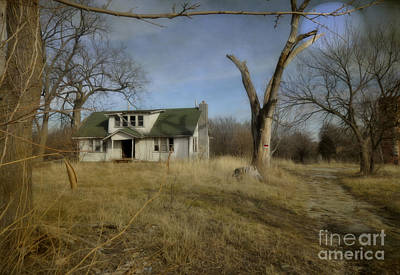 Photograph - Abandoned Farm Home by Liane Wright