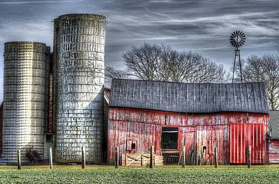 Photograph - Abandoned Farm New Jersey by Lucia Vicari