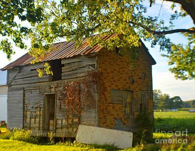 Abandoned Farmhouse 2014 Art Print by Tina M Wenger