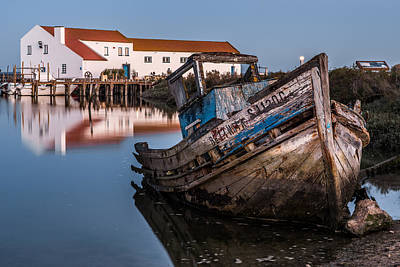 Photograph - Abandoned Fishing Boat I by Marco Oliveira