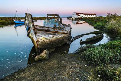 Stellar Interstellar - Abandoned Fishing Boat II by Marco Oliveira