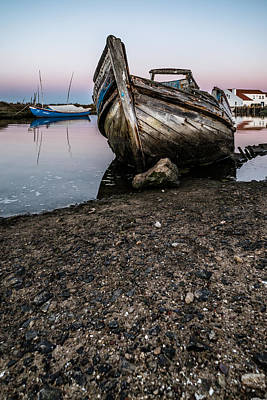 Abandoned Fishing Boat IIi Art Print by Marco Oliveira
