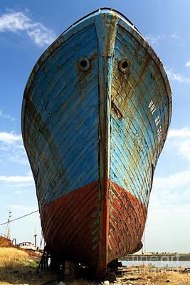 Ship Photograph - Abandoned Fishing Ship by Jose Elias - Sofia Pereira