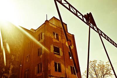 Photograph - Abandoned Flare by Melinda Ledsome