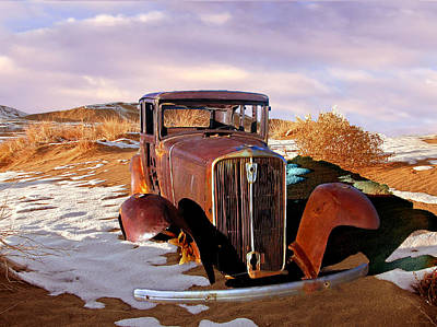 Photograph - Abandoned For Almost 100 Years On Route 66 by Bob and Nadine Johnston