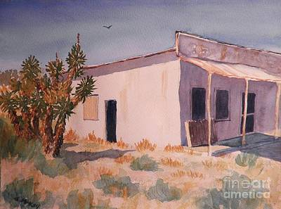Painting - Abandoned Grocery Store by Suzanne McKay
