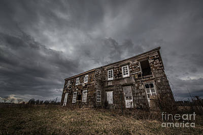 Abandoned History 2 Original by Michael Ver Sprill
