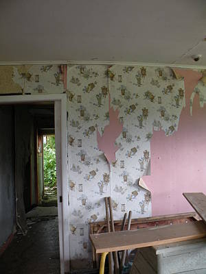 Garden Fruits - Abandoned Home by April Hendricks
