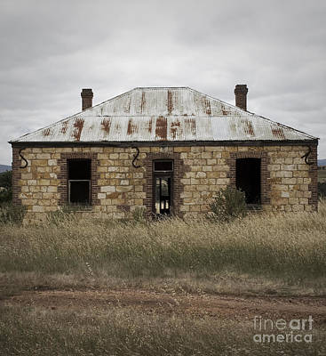 Abandoned Home Art Print by Kelly Jones