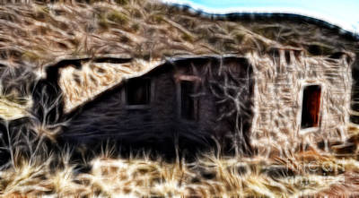 Photograph - Abandoned Homestead by Donna Greene