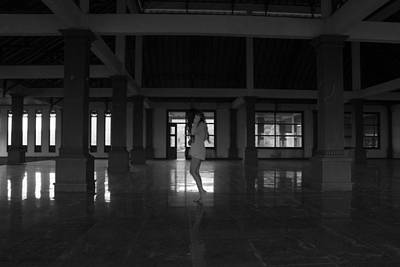 Selfportrait Photograph - Abandoned Hotel II - Selfportrait by Octavia Dingss