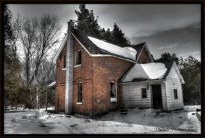 Photograph - Abandoned House 2 by Michaela Preston