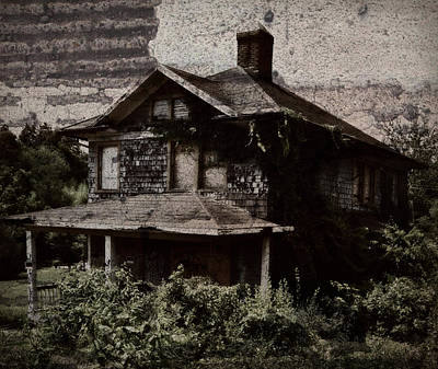 Photograph - Abandoned House by Amber Summerow
