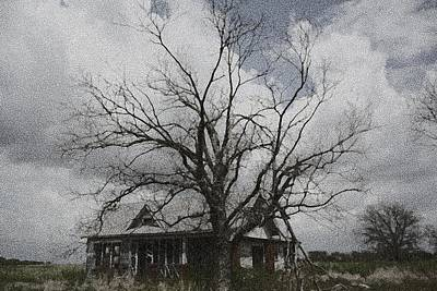 Abandoned House Art Print by Donna G Smith