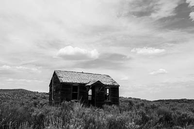 Photograph - Abandoned House In Oklahoma by Nathan Hillis