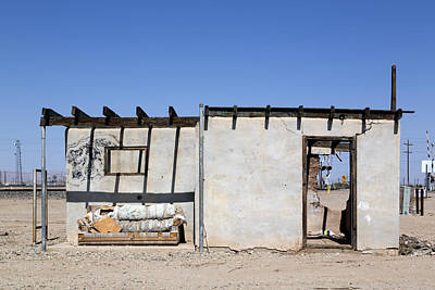 Photograph - Abandoned House Near The Salton Sea  by Carol M Highsmith