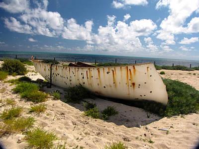 Grand Turk Island Photograph - Abandoned In Grand Turk by Denise Keegan Frawley