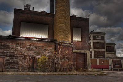 Abandoned In Hdr 2 Art Print by Tim Buisman