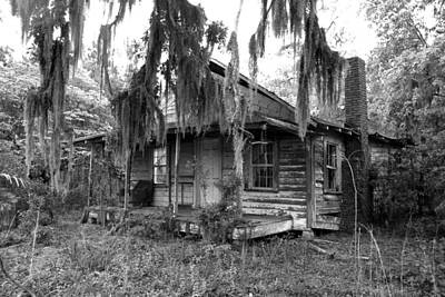 Photograph - Abandoned In South Carolina by Jim Vance
