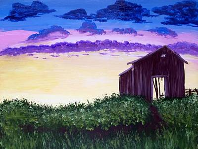 Abandoned In The Evening Art Print by Joy Gilley