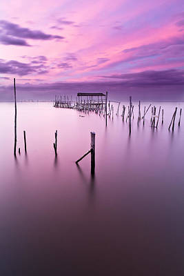 Sunset Photograph - Abandoned by Jorge Maia