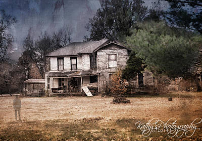 Photograph - Abandoned by Kathy Williams-Walkup