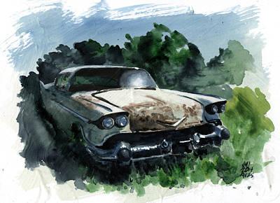 Abandoned Art Print by Ken Meyer jr