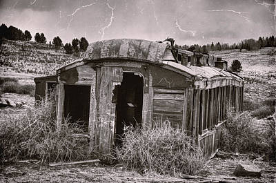Abandoned Art Print by Ken Smith