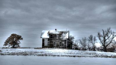 Art Print featuring the photograph Abandoned  by Kevin Bone