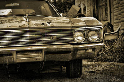 Photograph - Abandoned Lesabre by Gordon Dean II