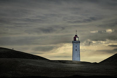 Abandon Wall Art - Photograph - Abandoned Lighthouse by Lotte Gr?nkj?r