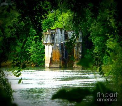 Photograph - Abandoned Log Hauler Station by Susan Garren
