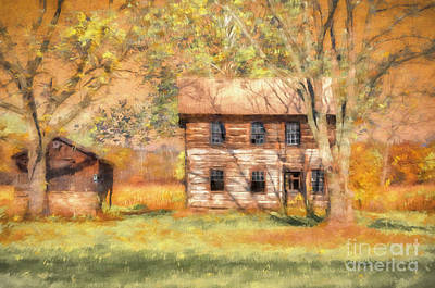 Abandoned Art Print by Lois Bryan